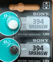 2-Sony 394/380 SR936SW 2Qt. Ships from USA Authorized Seller Exp. 04/2021