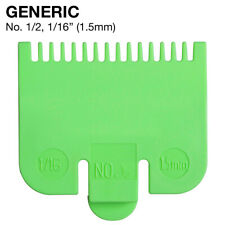 """FITS ALL CONAIR Barber Clippers Hair Guide No 1/2 Attachment Comb 1/16"""" -GENERIC"""