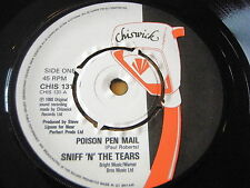 "SNIFF 'N' THE TEARS - POISON PEN MAIL   7"" VINYL"