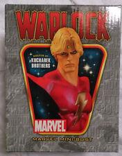 Marvel Comics Bowen Infinity Montre Adam Warlock mini buste/statue + boite très bon état RARE