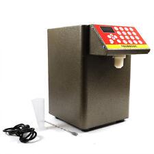 8l Fructose Quantitative Dispenser Machine Milk Tea Bubble Tea Equipment 400w