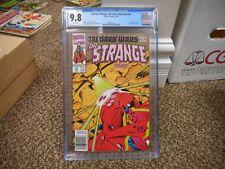 Dr Strange 24 cgc 9.8 Marvel 1990 WHITE pg MINT Dormammu Sorcerer Supreme Doctor