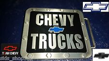 ♈ CHEVY TRUCKS Belt Buckle ♈ Pewter,blue black color Great gift.Classic Cherolet