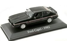 1/43 - IXO : EN BOITE VITRINE  - FORD CAPRI NOIRE  - 1982