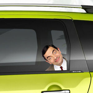 Mr Bean Funny Man on Board Car Sticker Graphic Vinyl Decal Gift New Home Colour