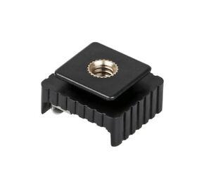 Adapter Blitzschuh-Adapter Standard-ISO-Blitzschuh an 1/4 Zoll Gewinde