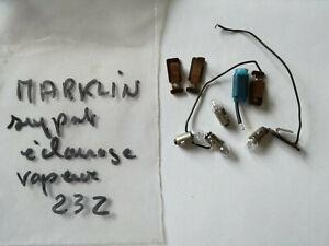 Marklin ou autre marque, ampoules, HO, Fleischmann, Roco