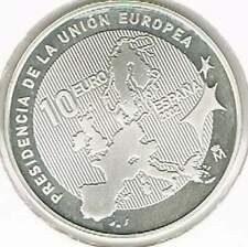 Spanje 10 euro 2002 Proof zilver PP: Voorzitter europese Unie