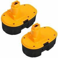 2Packs 18V 3.6Ah for Dewalt XRP Battery 18 Volt DC9096-2 DC9098 DC9099 DW9096