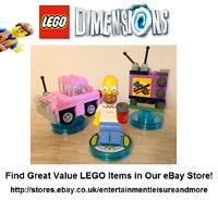 LEGO Dimensions Homer Simpson Level Pack 71202 -- Premium eBay Seller -