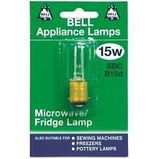 BELL 15W 240V SBC APPLIANCE MICROWAVE / FRIDGE LAMP - PACK OF TWO