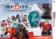 Disney Infinity Nintendo 3DS Starter Pack Toy Box Challenge ---LAST ONE!!