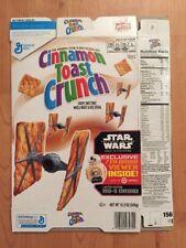 2016 General Mills Cinnamon Toast Crunch Star Wars The Force Awakens Packaging