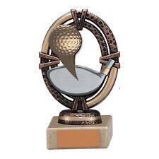 Maverick légende, golf trophée/award, 125mm gravure gratuite (TH16011A) trd