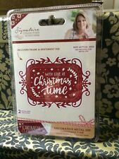 CRAFTER'S COMPANION SIGNATURE COLLECTION WITH LOVE AT CHRISTMAS TIME DIES