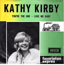 7inch KATHY KRIBY you're the one HOLLAND FAVORIETEN EXPRES EX  (S0800)