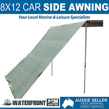 Oztrail 8x12 Car Side Awning Extension 4x4 4wd Camping Rack Tent Cover Shade