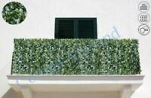 Sichtschutzhecke Balkonverkleidung