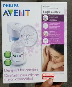 phillips avent breast pump single electric