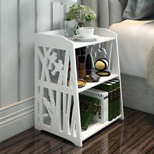 Carved Hallway Office Home Decor Shelf Rack & Drawer Storage Organizer Large US
