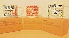 Starbucks Been There Series MONTREAL, QUEBEC AND CANADA (3MUGS) Set NWT