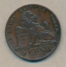 België/Belgique 5 ct. Leopold I 1851 Morin 78 (119120)