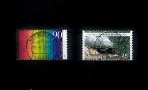 BRD_2008 Nr. 2907, 2910 ʘ von 2012 - Frauenhofer, Harzer Schmalspurbahn