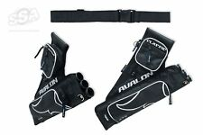 AVALON CLASSIC' -3 TUBES W/BELT AND 2 POCKETS ARCHERY QUIVER