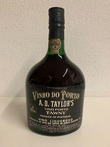 Vino Porto Tawny A.D. Taylor's. Vintage.