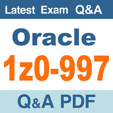 Oracle 1Z0-997 Real Exam Questions & Answers - PDF