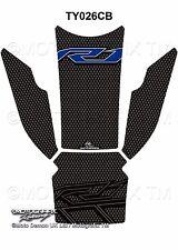 Yamaha R1 R1M 2015 16 17 Carbon Motorcycle Tank Pad Motografix 3D Gel Protector