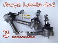 Defender 90 110 130 track rod ends Heavy Duty greaseable Gwyn Lewis 4x4 sumobars
