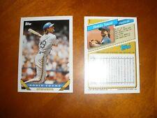 1993 Topps Baseball Set Break (#1-250) .99 Singles-Qty. Discounts-Free Shipping!