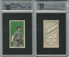 T206 Atc Baseball, 1909-11, Oscar Strange, Detroit Tigers, Gai 4 Vgex