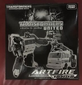 Transformers United Artfire Million Publishing Exclusive NEW MISB RARE