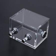 G1/4 Water Tank for PC Water Cooling System with Fittings Blcok Reservoir 200ml
