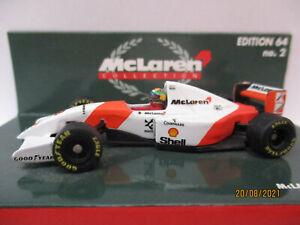 McLAREN MP4/8 FORD, #8, Ayrton Senna, 1993, 1:64!!