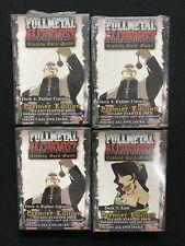 Fullmetal Alchemist TCG Premier Edition Starter Deck Lot of x4