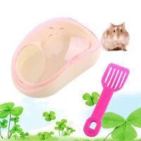 New Small Animal Hamster Sauna Sand Bath Room Bathing Bathroom Potty Plastic