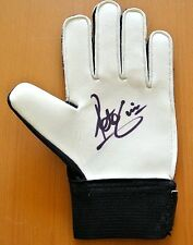 Certified: Obtained Personally S Signed Football Gloves