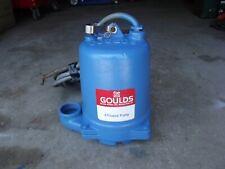 Goulds Effluent Pump 460 Volt