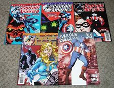 CAPTAIN AMERICA (Vol 3 1998) #46 47 48 49 50 all VF final issues Red Skull