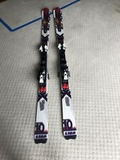 Used Skis, Salomon, Working, Pre-owner Condition, Scratches, With Bindings