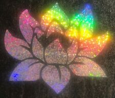 Lotus Flower Decal Spiritual Japanese Car Truck SUV Vinyl Window Wall Sticker