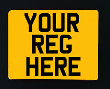 Motorcycle Number Plates - Road & MOT Legal - Free Fixings!