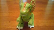 Fisher Price Imaginext Dilophosaurus Dinosaur Mattel 2006 Battery Operated Walks