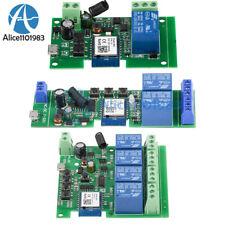 USB 5V/DC7-32V 1/2/4 Channel WIFI Remote Control Relay Switch Module 433MHZ