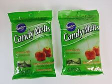 2X Wilton Candy Melts Limited Edition Caramel Apple Flavor, Candy Mold, Cake Pop