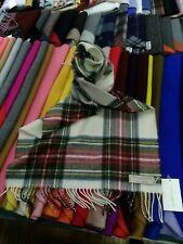 100% Lambswool Wide Scarf | Lochcarron | Made in Scotland | Dress Stewart Stole