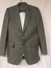 Vintage American Craftsmen Men's Grey Suit Jacket Two Button Nice!